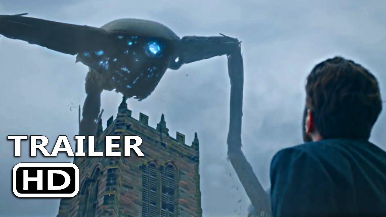 THE WAR OF THE WORLDS Official Trailer (2019) Alien Sci-Fi Movie