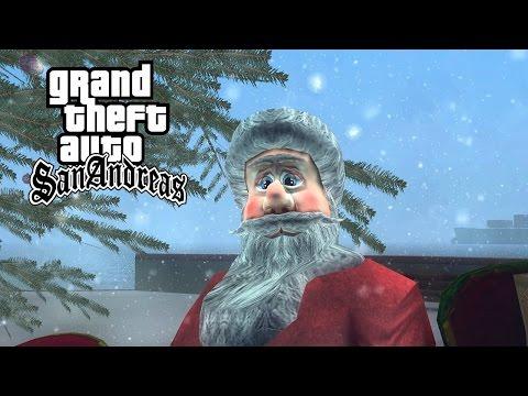 GTA San Andreas - Winter Vacation Gameplay (Christmas Mod)