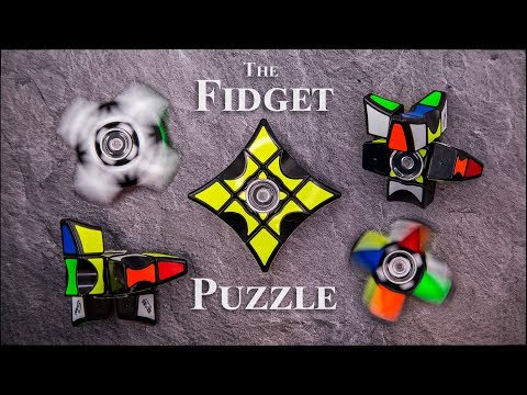 The Fidget Spinner Puzzle is here!
