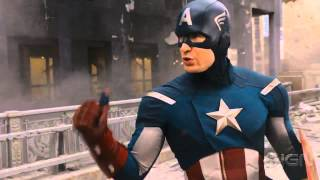 The Avengers Clip - Captain's America Plan Scene - Hulk Smash ! [HD]
