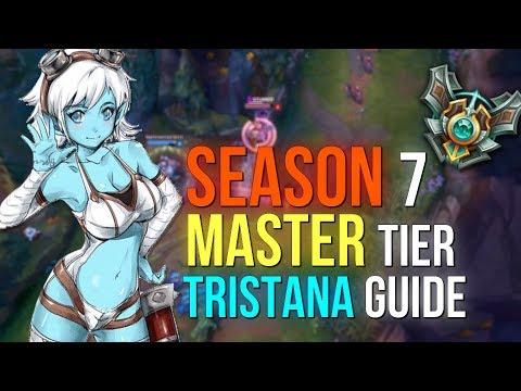 Master Tier Tristana Guide (S7) (RUNES & MASTERIES & BUILD)
