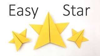 Easy Origami X-mas Star Tutorial In 2 Minutes