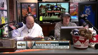 Warren Buffett on March Madness One Billion Dollar Prize 1/22/14