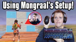I Played Arena With FaZe Mongraal's Setup! - Fortnite Battle Royale