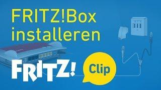 FRITZ! Clip – FRITZ!Box binnen 5 minuten installeren