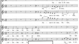 Gabrieli Andrea : QUEM VIDISTIS, PASTORES? for 8-part mixed choir (SSAB ATTB)