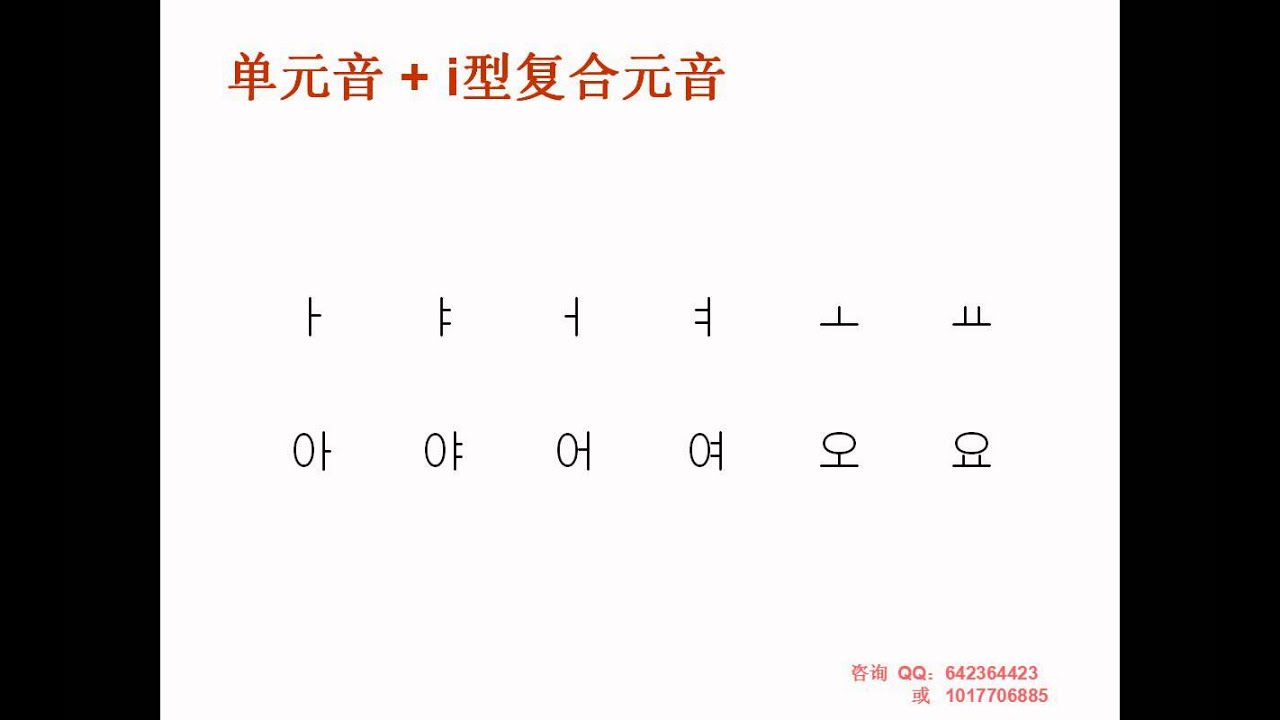 [韩语学习 Learn Korean] 韩语自学小树老师的零基础韩语教程第一课~
