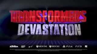Transformers Devastation Трейлер и Геймплей