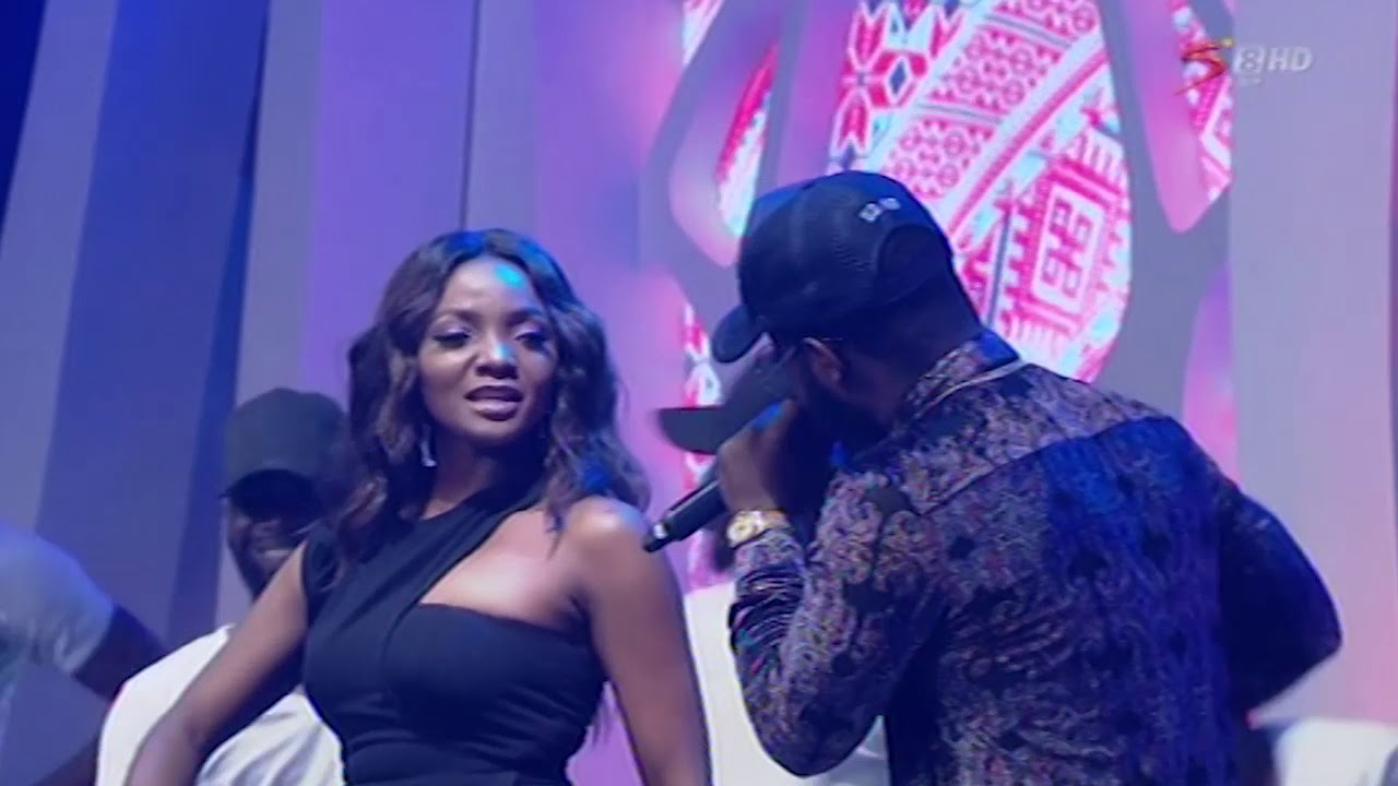 SIMI AND FALZ THE BAD GUY'S PERFORMANCE AT NFF AWARDS 2018