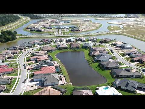 Seville new construction homes for sale | aerial view | Viera, FL