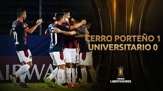 Cerro Porteño vs. Universitario [1-0] | RESUMEN | Fase dos (Vuelta) | CONMEBOL Libertadores 2020