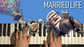 HOW TO PLAY - UP - Married Life (Piano Tutorial Lesson)