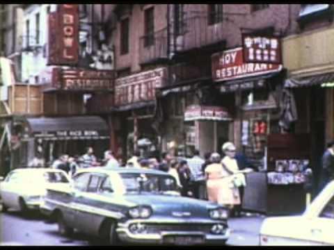 New York City - Chinatown 1968