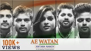 Ae Watan | Raazi | Groovity | Antara Nandy | Alia Bhatt | Arijit Singh | Gulzaar