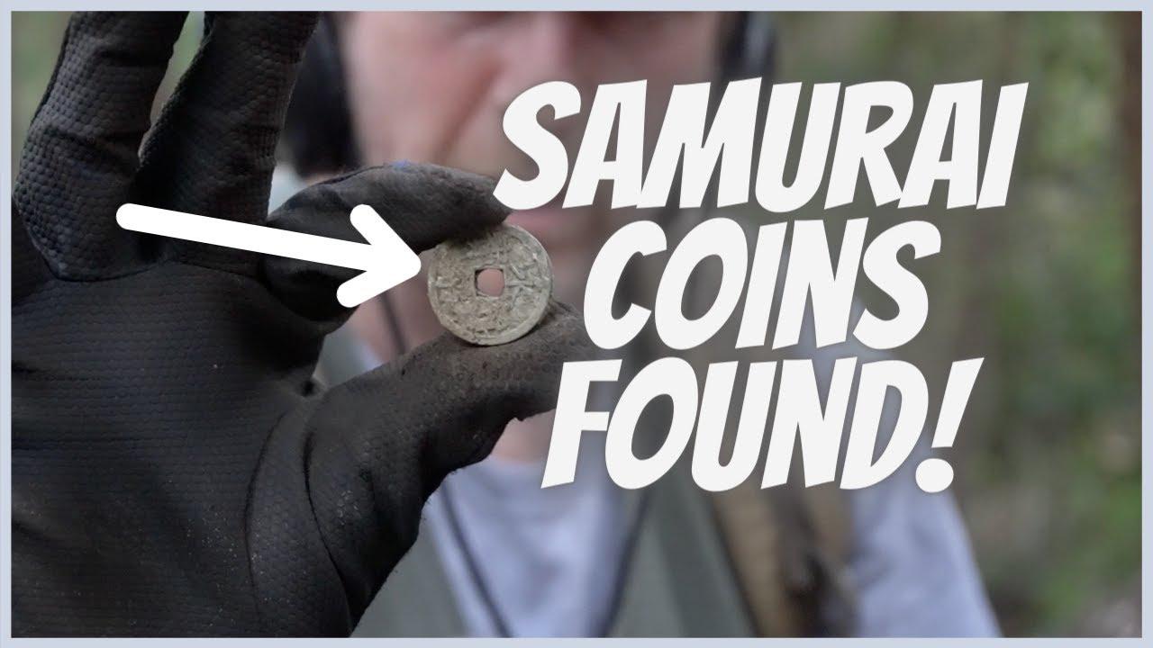 Samurai Coins Found! #shorts