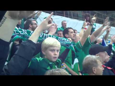 Northern Ireland vs Greece. Euro 2016 Qualifier October 8th 2015