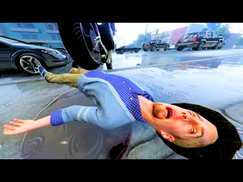 GTA V Unbelievable Crashes/Falls - Episode 106