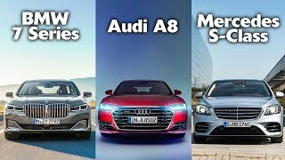BMW 7 Series VS Audi A8 VS Mercedes-Benz S-Class - Which is the best luxury car?