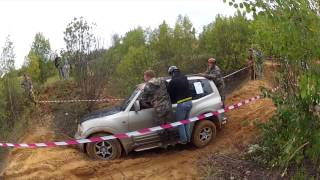 Mitsubishi Pajero 3 / Дорогобуж соревнование внедорожников по песку(, 2015-09-08T14:33:36.000Z)