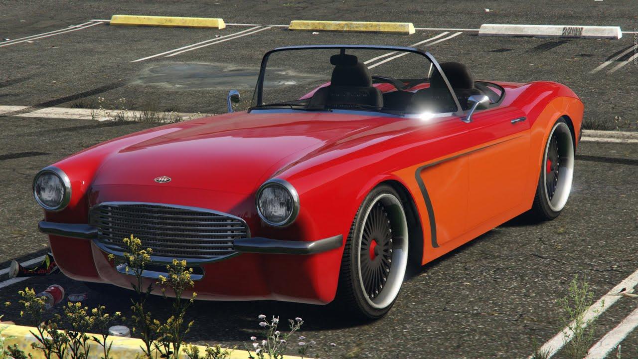 GTA V PC Invetero Coquette Blackfin Exhaust Sound YouTube - Sports cars 5 letters