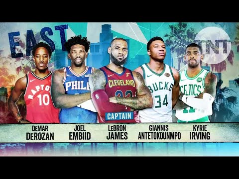 2018 East All-Star Starters Announcement | Inside the NBA | NBA on TNT
