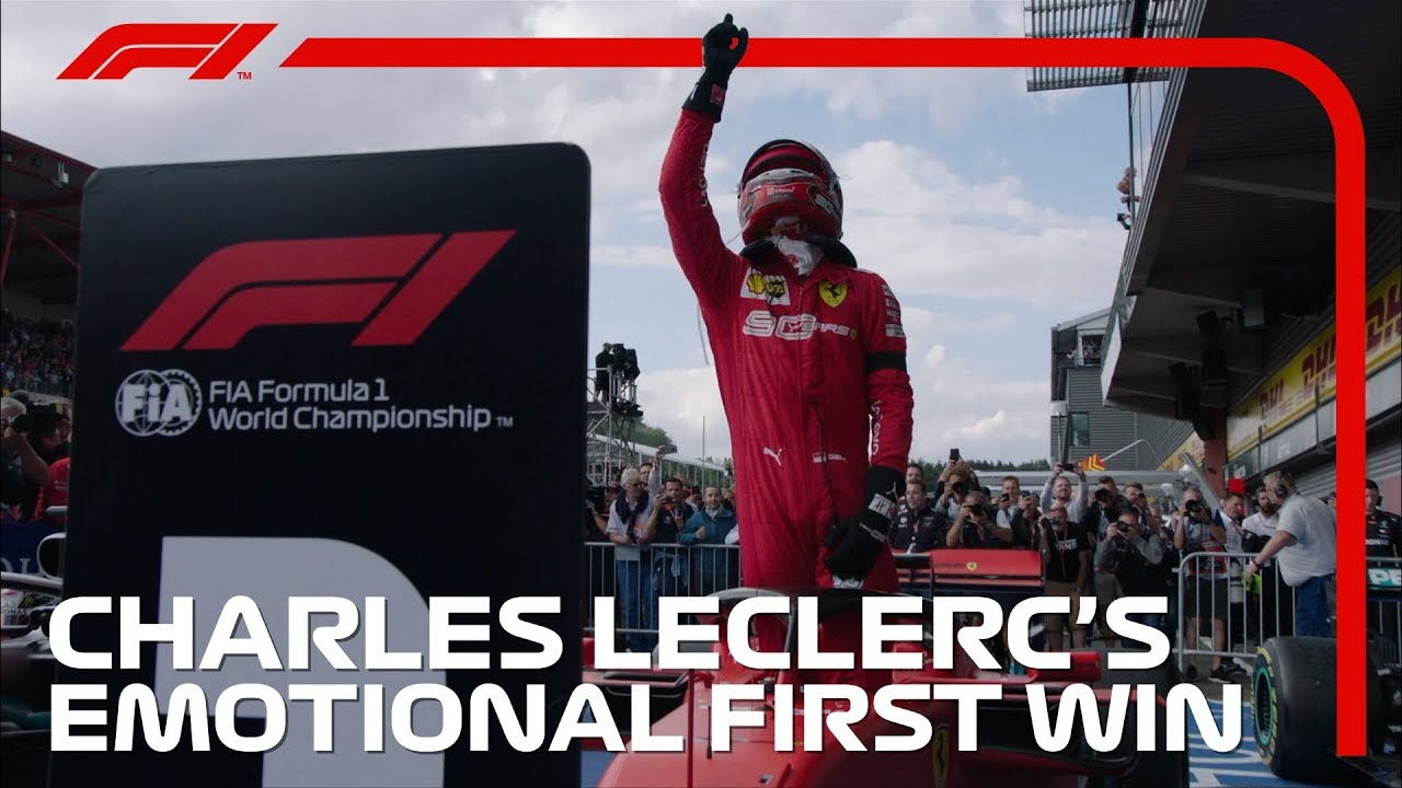 Charles Leclerc claims Belgian Grand Prix for first victory in F1