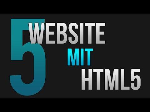 Website Mit HTML #5 (Tutorial Für Anfänger) • [German] [HD]