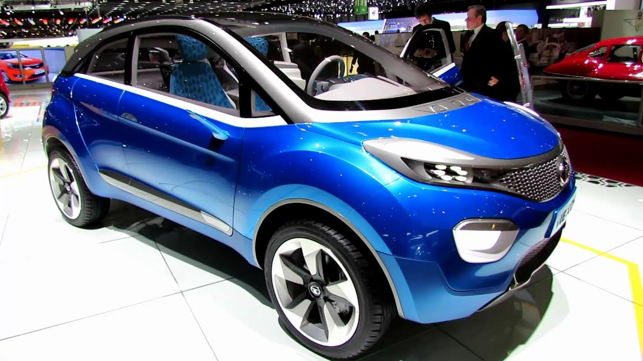 2015 Tata Nexon Concept Exterior And Interior Walkaround