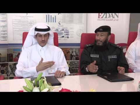 توقيع عقد رعاية مشروع درب الأمان - Safety Path sponsorship agreement concluded