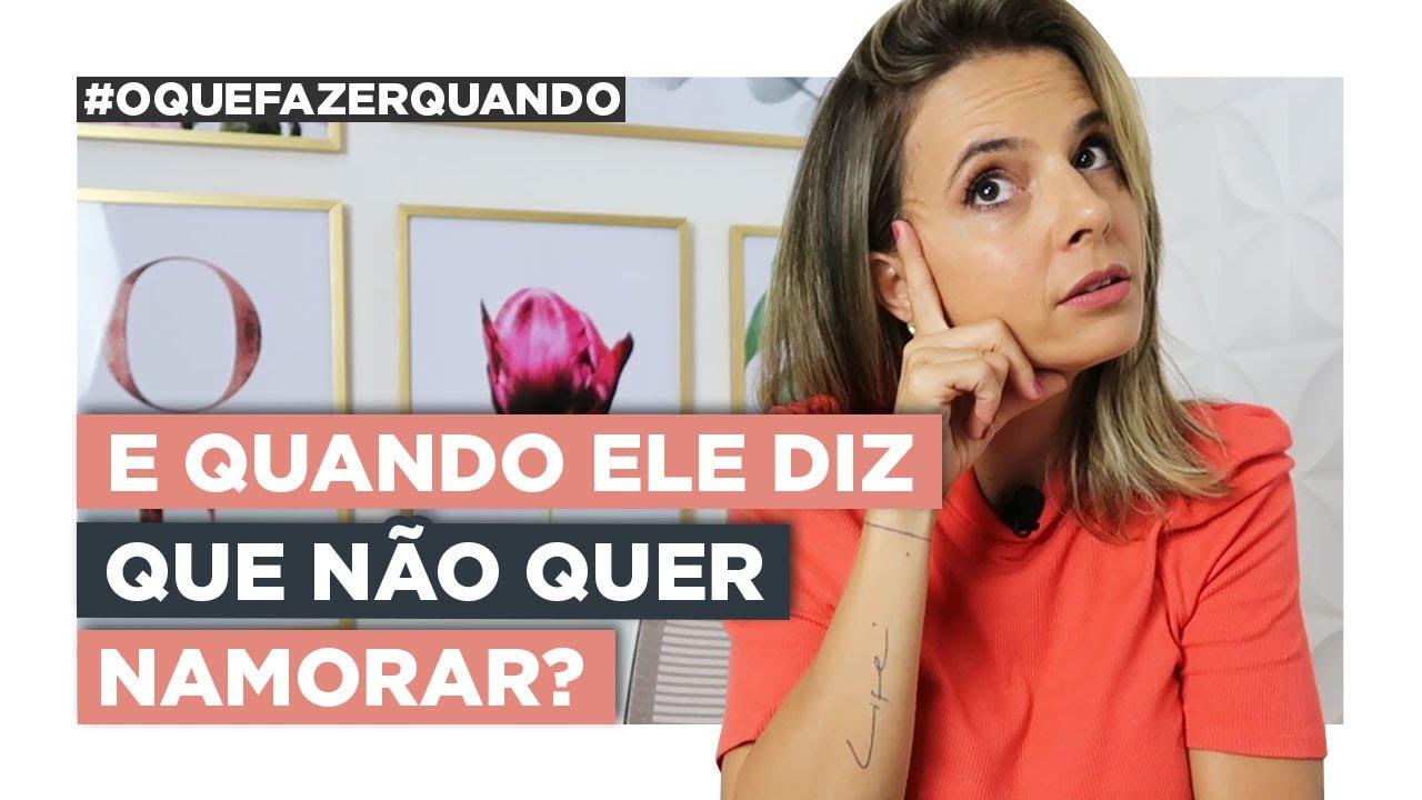 Download A Solução Para Quando Ele Diz Que Não Quer Namorar | Especialista em Conquista | Luiza Vono