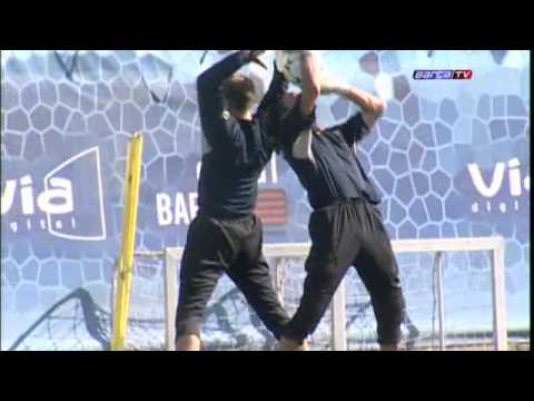 FC Barcelona - Unzué, nou entrenadors de porters