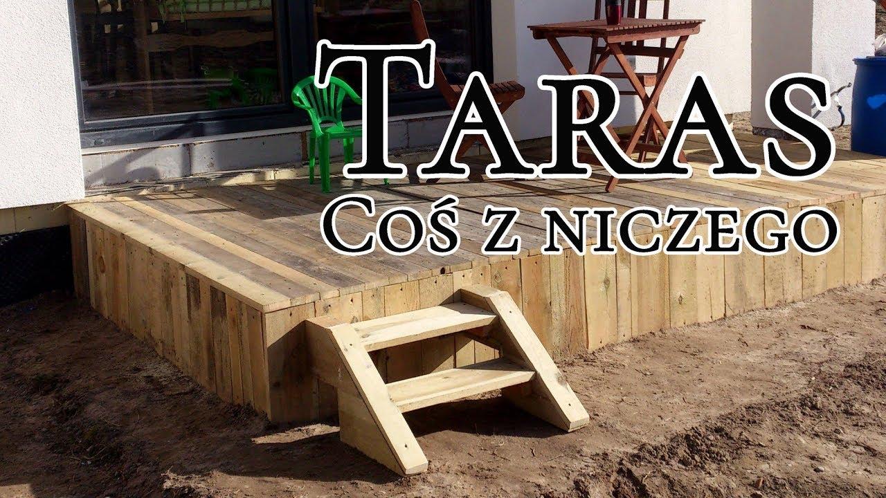 Coś Z Niczego Drewniany Taras Youtube