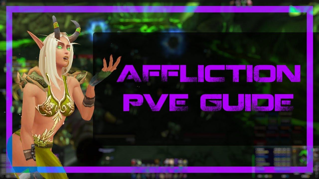 7.3 Affliction Warlock Quickstarter Guide! - YouTube