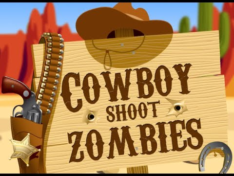 Cowboy Shoot Zombies Game |