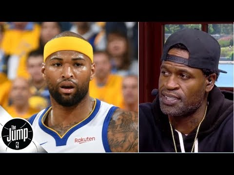 Stephen Jackson's message for DeMarcus Cousins: 'You have so many of us rooting for you' | The Jump
