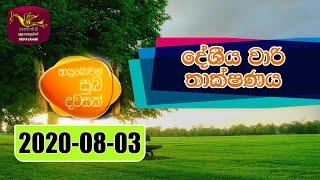 Ayubowan Suba Dawasak | 2021-08-03 |Rupavahini Thumbnail