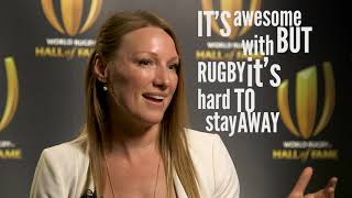 Heather Moyse's Love Of The Game | Rugby Shorts