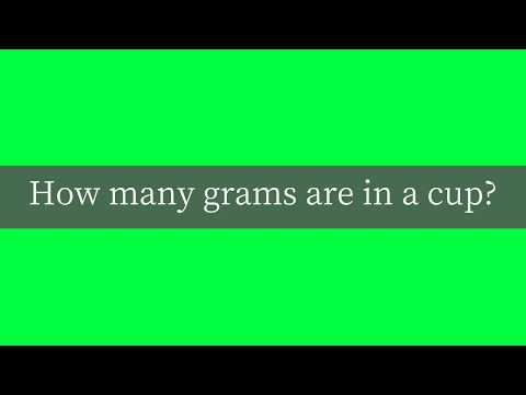 how-many-grams-are-in-a-cup?