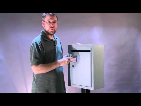 Wall Mounted Mail Drop Box S2240 Demo / Review
