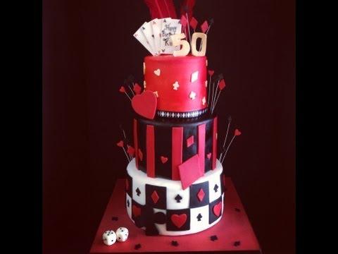 Casino Themed Cake