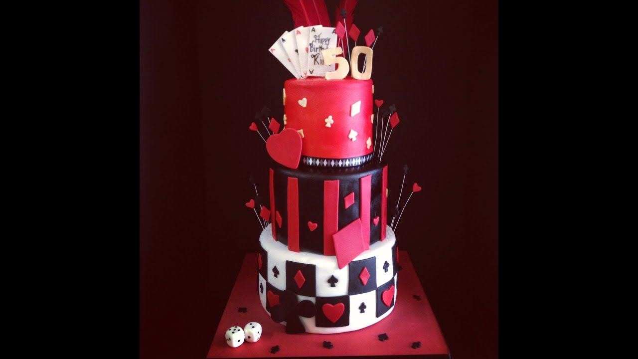 Casino Themed Cake YouTube