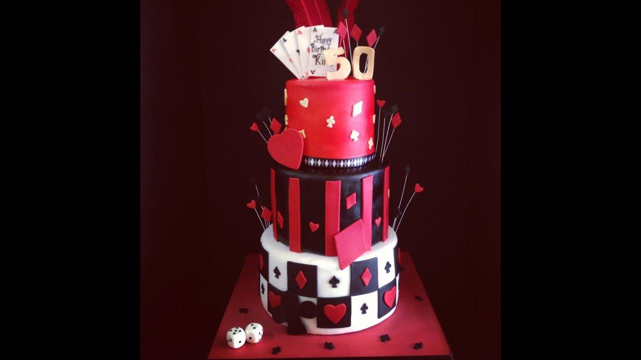 Casino Themed Cake Youtube