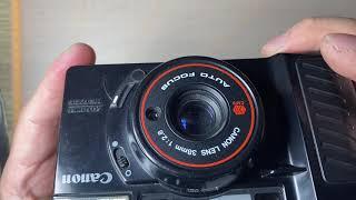 필름 카메라 캐논 슈어샷(오토보이 2) 사용법 / Fi…