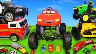 Cars, Tractor, Fire Truck, Excavator, Train & Police Ride On Toy Vehicles for Kids