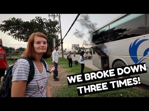 Cambodia To Vietnam Border Crossing By Bus | The Vietnam Voyage Episode 01
