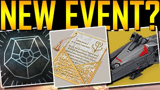 Destiny - THE DAWNING! NEW EVENT?!