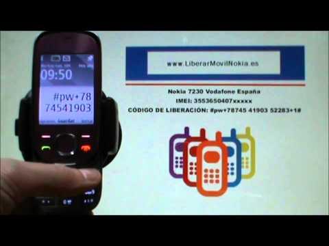 Liberar Nokia 7230 Vodafone
