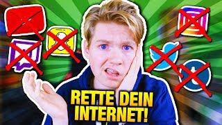 YOUTUBE, INSTAGRAM, etc. GEHEN UNTER! #SaveYourInternet - Macht etwas GEGEN die ZENSUR!