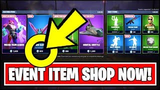 FORTNITE EVENT ITEM SHOP *LIVE NOW* (Fortnite ROBOT vs MONSTER Event Season 9 Item Shop)