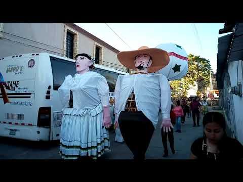 Calenda  2017 Guadalupe  etla. En honor  ala virgen  de Guadalupe.  Banda pequeños tierra blanca